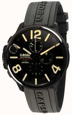 U-Boat Capsoil 45 dlc chrono / c zwarte rubberen band 8109/C