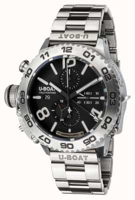 U-Boat Doppiotempo chronograaf | roestvrij staal | armband 9016/MT