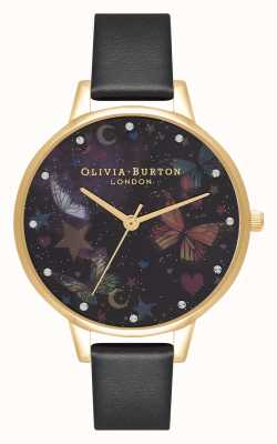 Olivia Burton Demi nachttuin vlinders vegan leer OB16WG82
