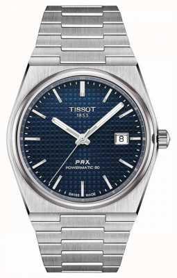 Tissot Prx 40 205 | powermatic 80 | blauwe wijzerplaat | roestvrij staal T1374071104100