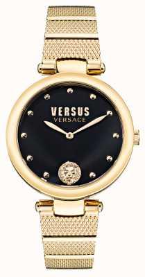 Versus Versace Versus los feliz verguld stalen horloge VSP1G0621
