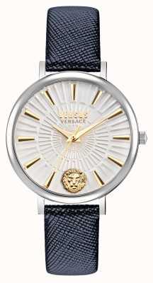 Versus Versace Versus Mar Vista-horloge met leren band voor dames VSP1F0121