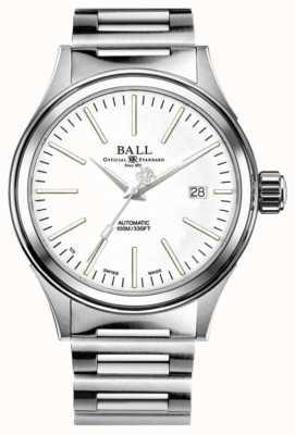 Ball Watch Company Brandweerman automatisch 40 mm witte wijzerplaat NM2098C-S20J-WH