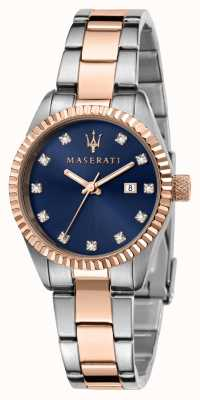 Maserati Competizione tweekleurig dameshorloge R8853100507