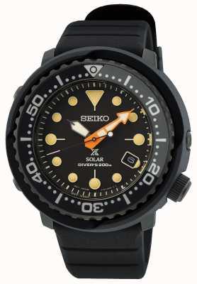 Seiko Prospex zwarte serie 'tonijn' limited edition SNE577P1
