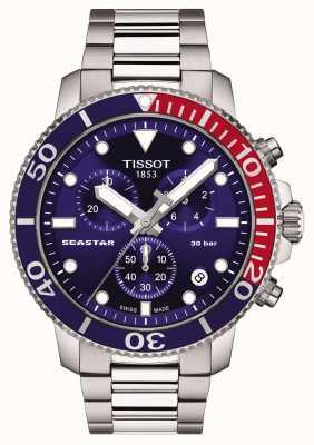 Tissot Seastar 1000 quartz chronograaf blauw T1204171104103