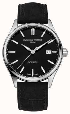 Frederique Constant Klassieke index 40 mm zwarte leren band FC-303NB5B6