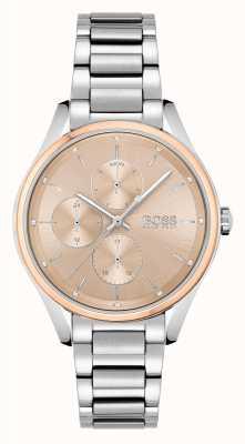 BOSS | grote cursus | sport lux | roestvrijstalen armband | 1502604