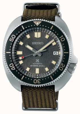 Seiko Prospex 1970 willard herinterpretatie stoffen horloge SPB237J1