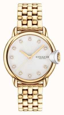 Coach Arden verguld dames armbandhorloge 14503819