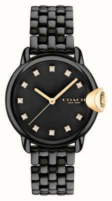 Coach Arden zwarte ip stalen armband voor dames 14503821
