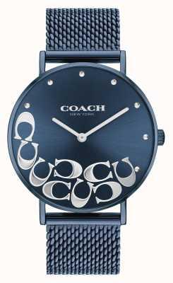 Coach Perry blauwe mesh-armband voor dames 14503824