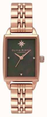 Olivia Burton Celestial North Star rechthoek wijzerplaat horloge OB16GD80