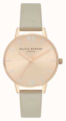 Olivia Burton Midi wijzerplaat bleek rose goud, zilver en grijs horloge OB16EN11