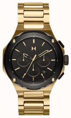MVMT Raptor sunflare gouden roestvrijstalen armband 28000150-D