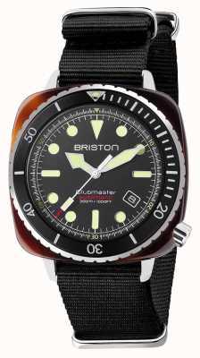Briston Diver pro acetaat zwarte nato band 21644.SA.T.1.NB