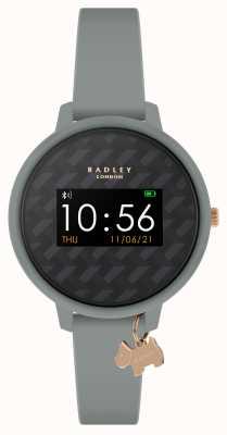 Radley Smart watch series 3 grijze band en hondenbedel RYS03-2018