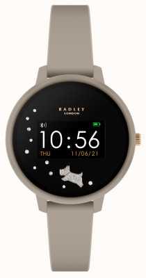 Radley Smart watch serie 3 grijze siliconen band RYS03-2032