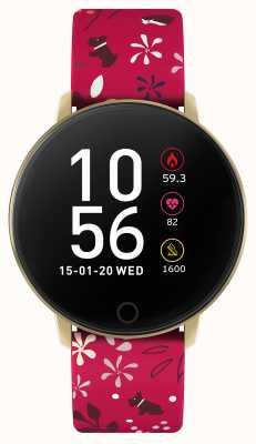 Radley Smart watch series 5 oranje bloemenbandje RYS05-2044