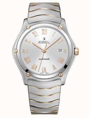 EBEL Sport klassiek tweekleurig automatisch herenhorloge 1216503M