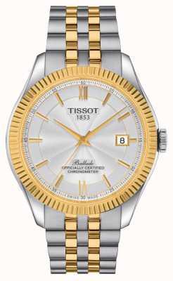 Tissot | ballade | powermatic 80 siliculm | tweekleurige armband | T1084082227801