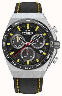 TW Steel Fast lane ceo tech limited edition horloge gele details CE4071