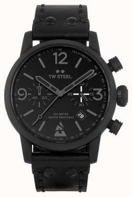 TW Steel Blast speciale editie horloge zwart monochroom MS99