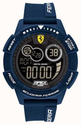 Scuderia Ferrari Apex supersnelle blauwe siliconen band 0830858
