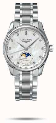 Longines Master collectie roestvrijstalen armband voor dames L24094876