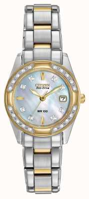 Citizen Ladies regent 28 diamanten EW1824-57D