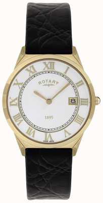 Rotary Leren herenband met ultradunne collectie GS08003/01