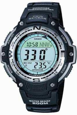Casio Mens alarm chronograaf SGW-100-1VEF